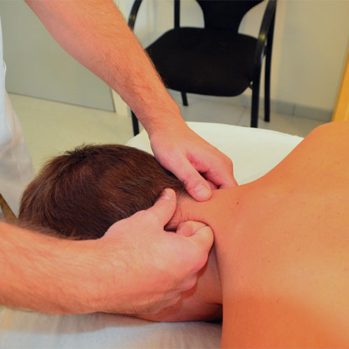Masaje descontracturante cervical