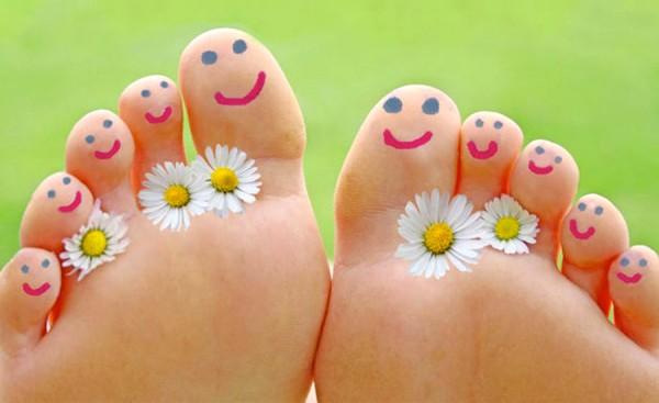pies felices