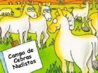 cebras nudistas